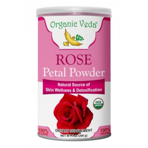 Organic Veda Rose Petal Powder (200g)