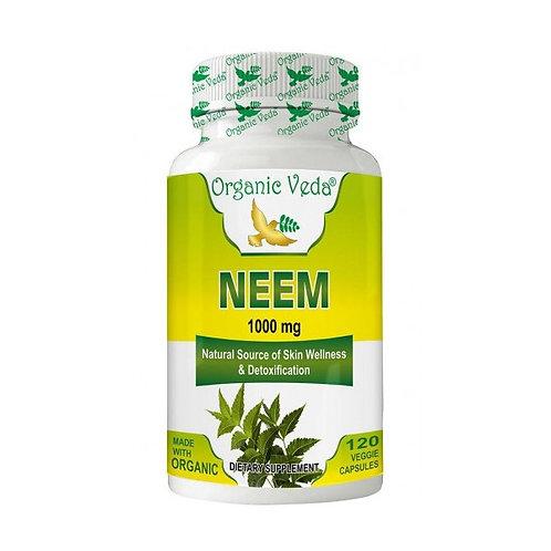 Organic Veda Neem (120 Capsules)