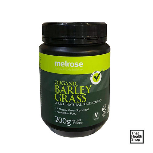 Melrose Organic Barley Grass Powder (200g)