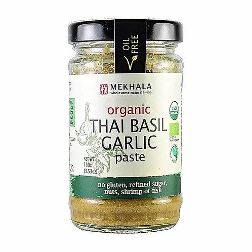 Mekhala Organic Thai Basil Garlic Paste (100g)