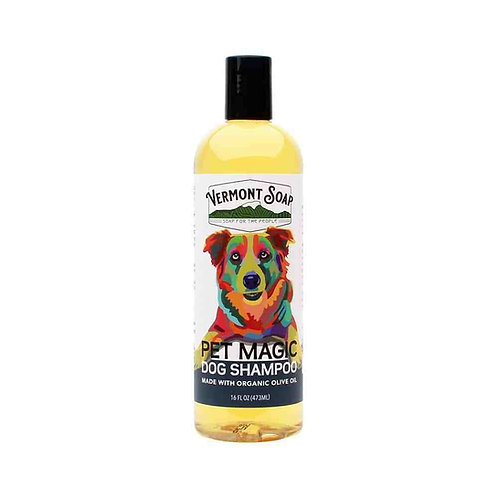 Vermont Soap Pet Magic Dog Shampoo (473ml)