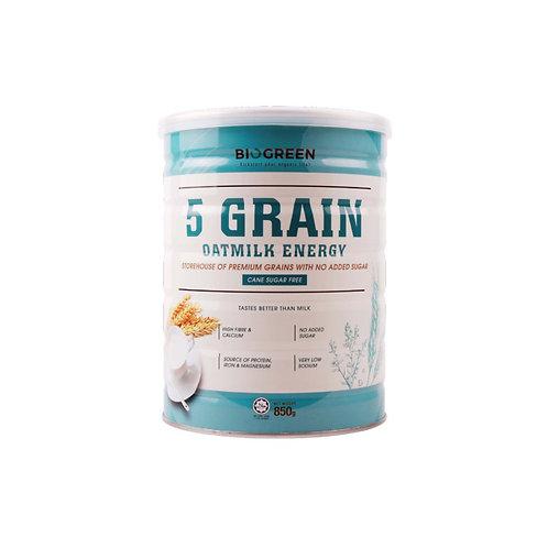 Biogreen Five Grain Dairy and Sugar Free Oatmilk Energy 850g