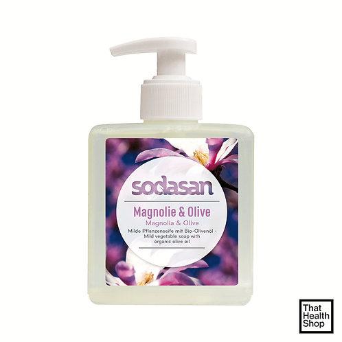 Sodasan Magnolie and Olive LIquid Soap 300ml