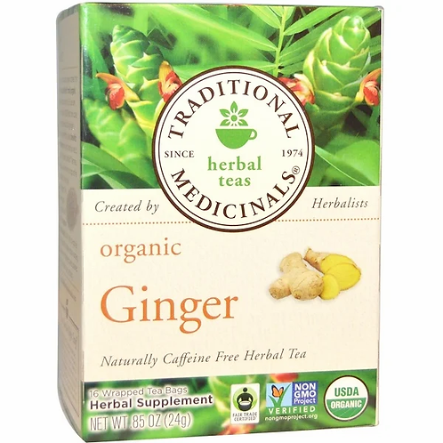 Traditional Medicinals Organic Ginger Tea (16 Sachets)