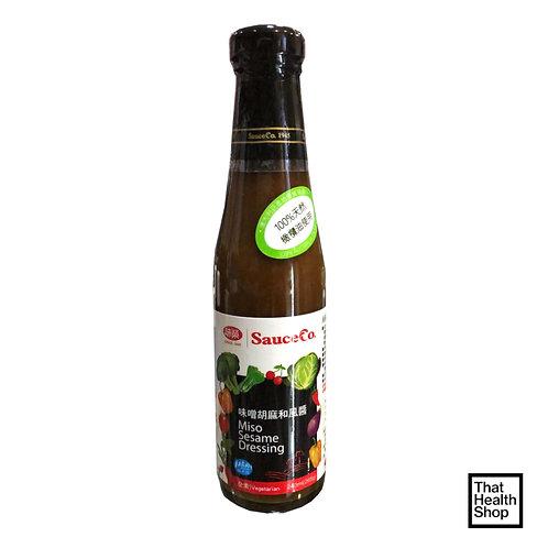 [Clearance - Expires Sep 2020] Sauce Co Miso Sesame Dressing (240ml)