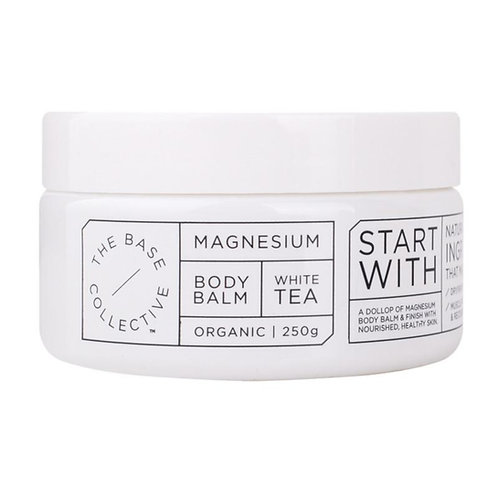 [Expires Oct 2020] The Base Collective Magnesium and White Tea Body Balm (250g)