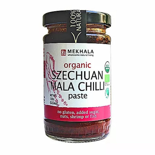 Mekhala Organic Szechuan Mala Chilli Paste (100g)