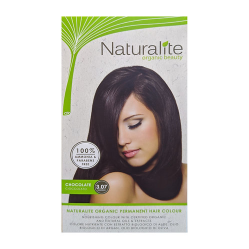 Naturalite Organic Permanent Hair Colour 3.07 (Chocolate)