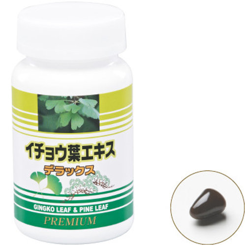 Health Trends Gingko Leaf and Pine Leaf Extract (90 Softgels x 250mg)