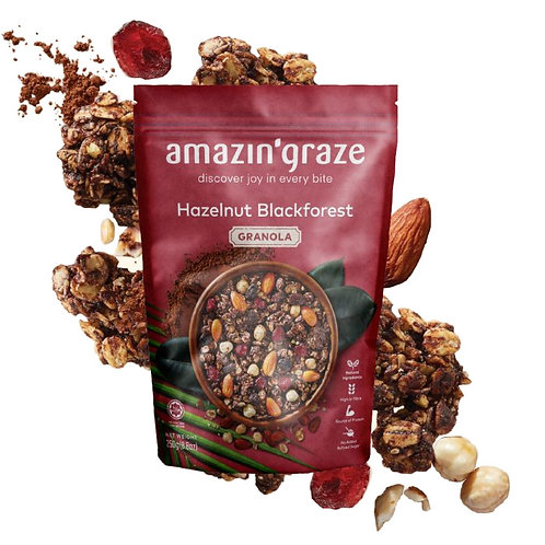 Amazin Graze Hazelnut Blackforest (250g)