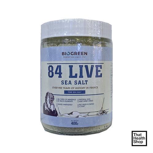 Biogreen 84 Live Sea Salt (400g)