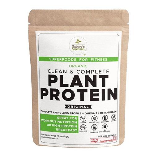 Nature's Superfoods Organic Plant Protein Original (400g)