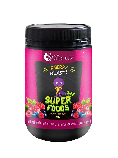 [Reduced to clear- Expires Aug 2020] Nutra Organics C Berry Blast (200g)