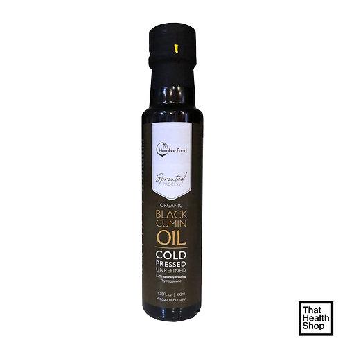Humble Food Organic Black Cumin Oil, Cold Pressed Unrefined (100ml)