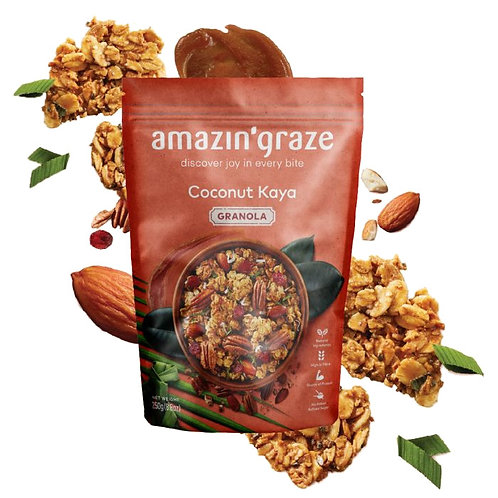 Amazin Graze Coconut Kaya Granola (250g)