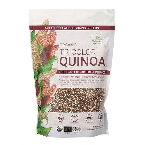 Nature's Superfoods Organic Tricolour Quinoa
