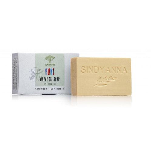 Sindyanna of Galilee Olive Oil Soap- Just Olive Oil (100g)