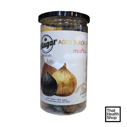 Blagar Aged Black Garlic (Unpeeled Whole Bulb Black Garlic Fermentation 90 Days)