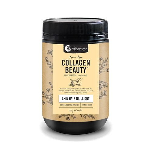 [Exp Nov 2021] Nutra Organics Collagen Beauty Lemon Lime (300g)