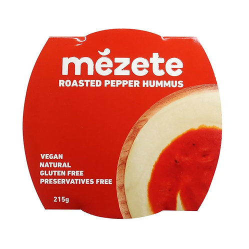 Mezete Roast Pepper Hummus (215g)