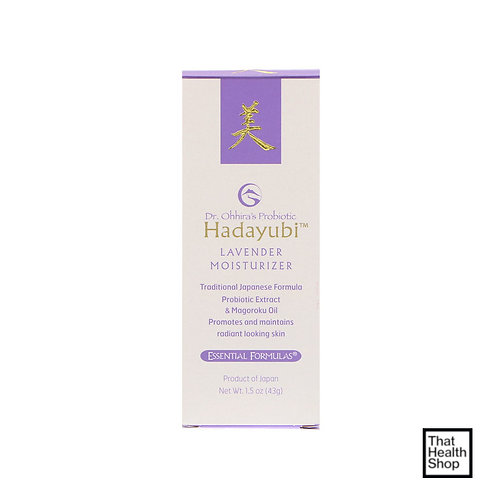 Dr. Ohhira's, Probiotic, Hadayubi Lavender Moisturizer (43 g)