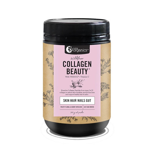 Nutra Organics Collagen Beauty Wildflower (300g)