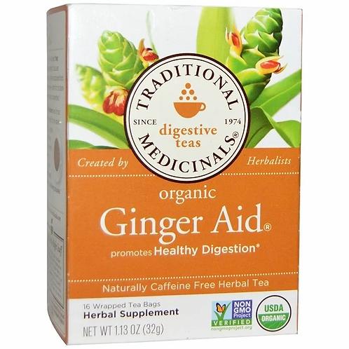 Traditional Medicinals Organic Ginger Aid Tea (16 Sachets)