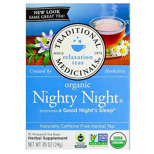 Traditional Medicinals, Relaxation Teas, Organic Nighty Night Tea (16 Sachets)