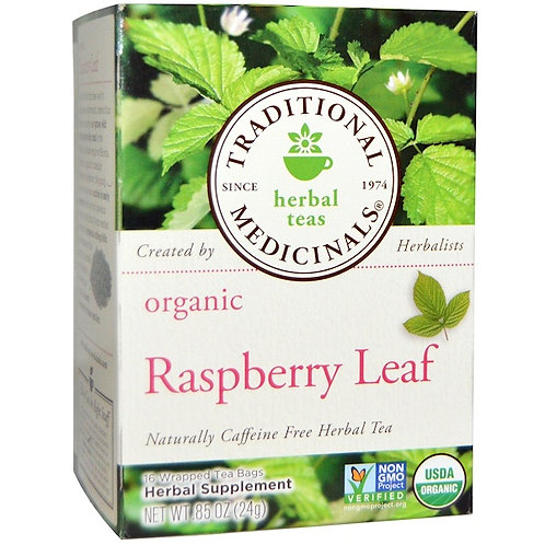 Traditional Medicinals Organic Raspberry Leaf Tea (16 Sachets)