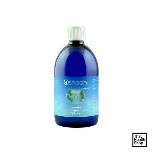 Oshadhi Cornflower Organic Hydrolat (with Eyewash cup) (Wild) 500ml