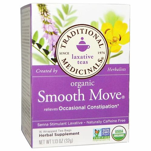 Traditional Medicinals, Organic Smooth Move, Senna Stimulant Laxative Tea (16s)