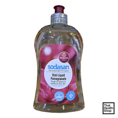 Sodasan Dish Liquid Pomegranate 500ml