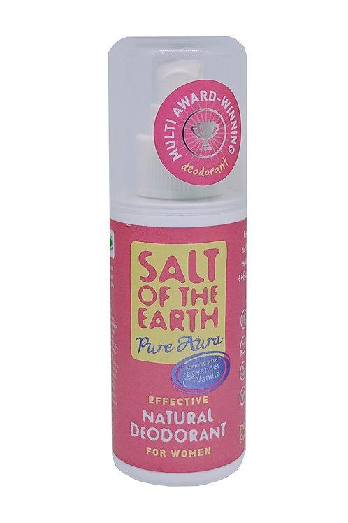SALT OF THE EARTH Natural Deodorant for Women (Lavender & Vanilla) 100ml