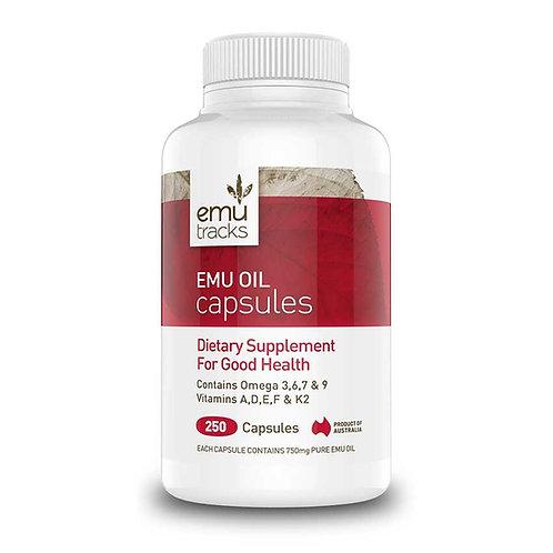 Emu Tracks Emu Oil (Capsules 250)