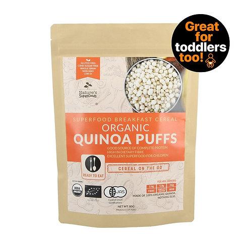 Nature's Superfoods Organic Quinoa Puffs (80g)