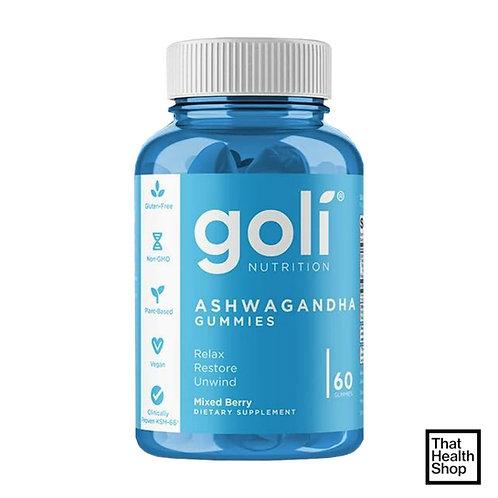 Goli Nutrition Ashwagandha Gummies (60 gummies)