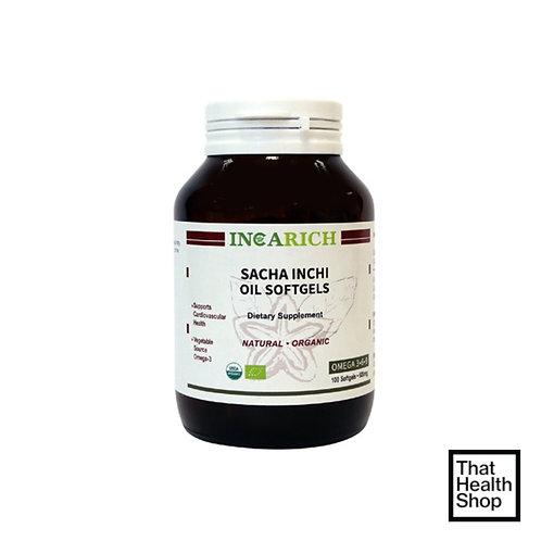 Sacha Inchi Incarich Sacha Inchi Oil Soft Gels (100 Soft Gels)