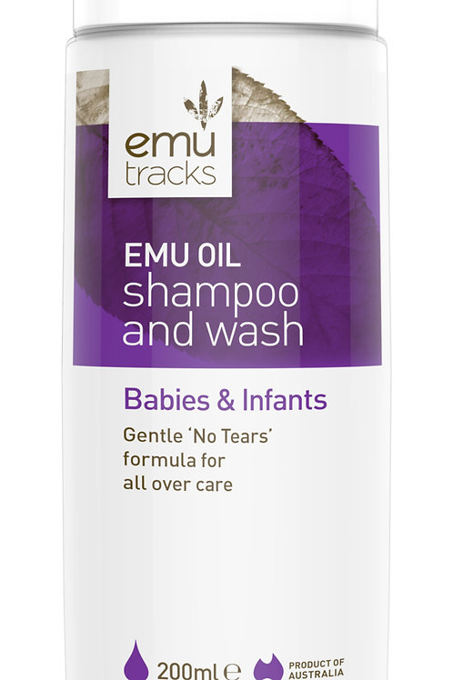 Emu Tracks 2-in-1 Shampoo & Wash (Suitable For Babies & Adults)