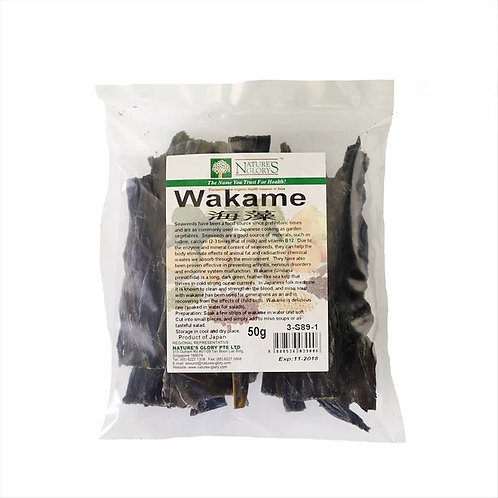 Nature's Glory Wakame (50g)