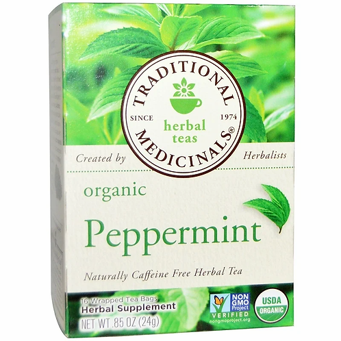 Traditional Medicinals Peppermint Tea (16 Sachets)