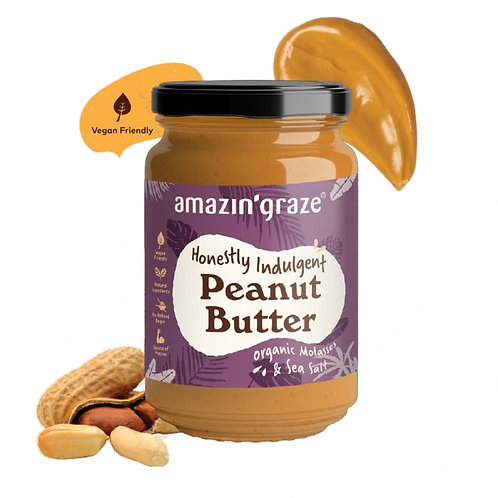 Amazin Graze Honestly Indulgent Peanut Butter (350g)