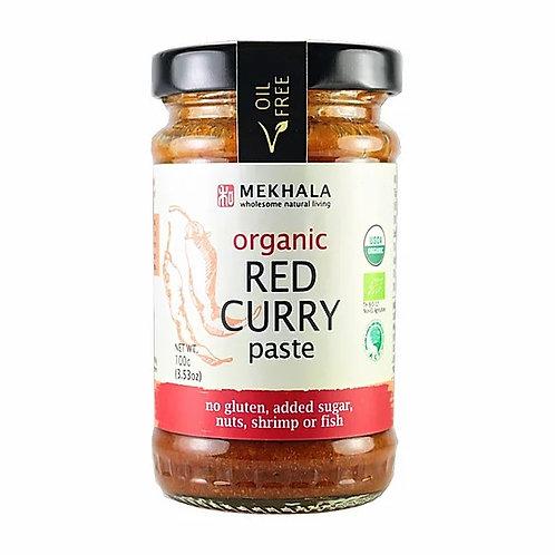 Mekhala Organic Red Curry Paste (100g)