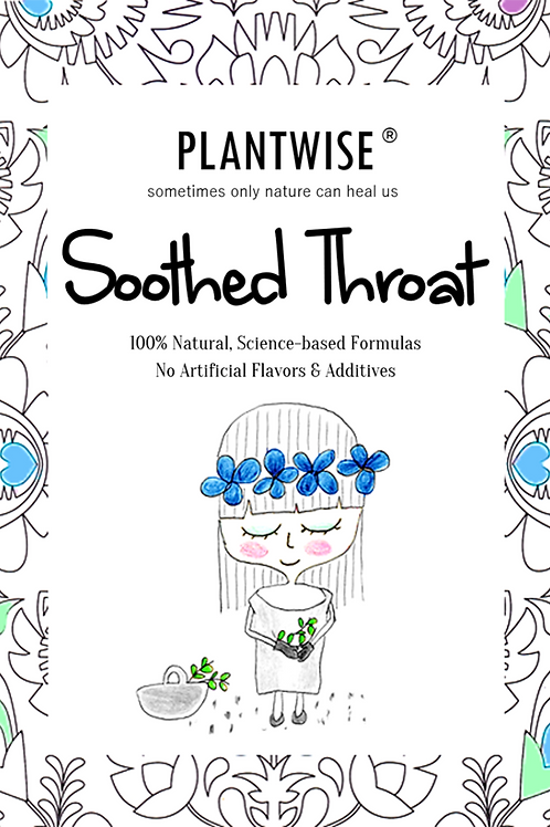 PLANTWISE Soothed Throat