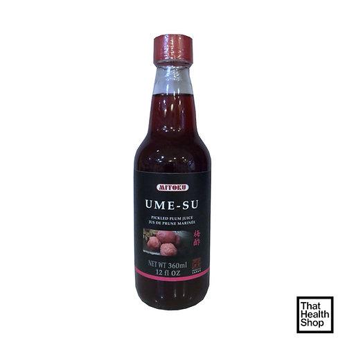 Mitoku Ume-Su Pickled Plum Juice 360ml