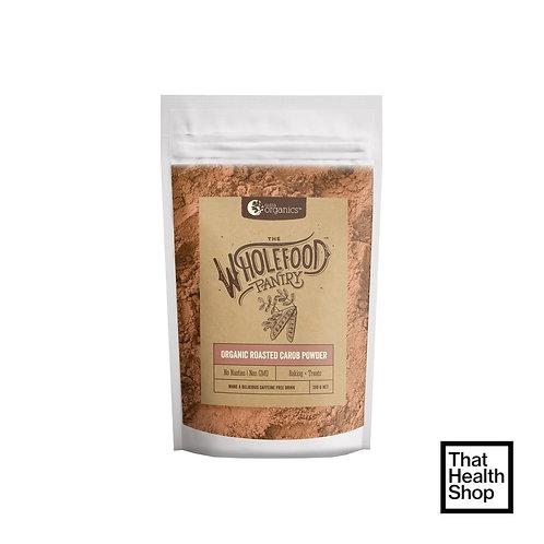 Nutra Organics The Whole Food Pantry Organic Roasted Carob Powder (200g)