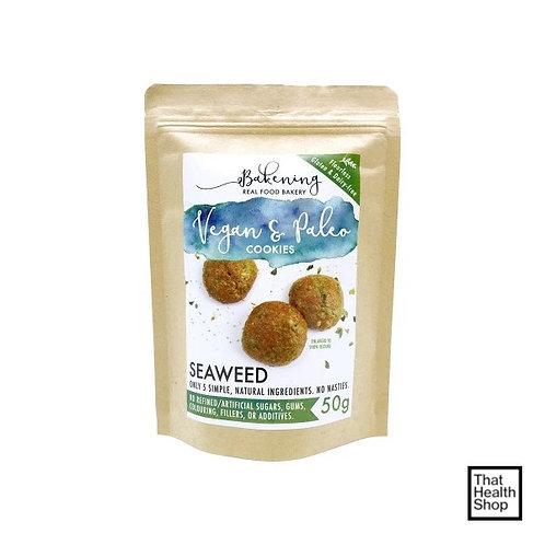 [Clearance - Exp 7/20] Bakening Vegan and Paleo Cookies - Seaweed (50g)