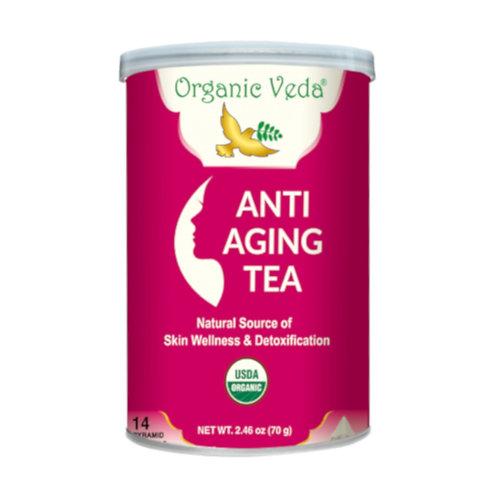 Organic Veda Anti Ageing Tea (14 Pyramid Tea Bags)