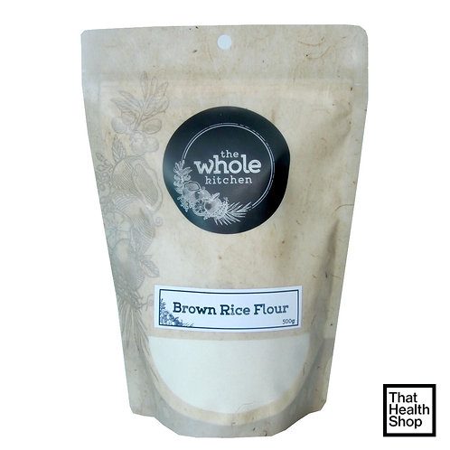 The Whole Kitchen Organic Brown Rice Flour (500g)