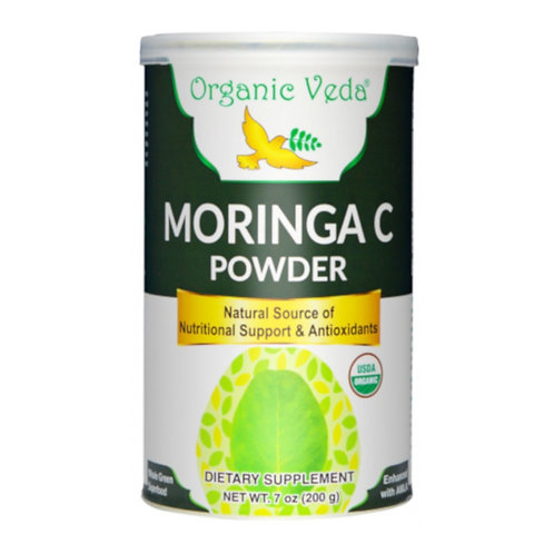 Organic Veda Moringa C Powder (200g)
