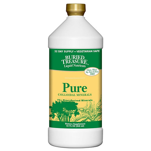 Buried Treasure Pure Colloidal Minerals (946ml)